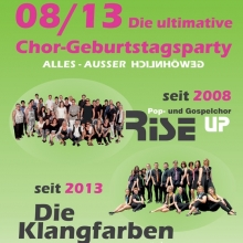 08/13 - Die ultimative Chor-Geburtstagsparty