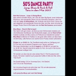 Bild: 50's Dance Party:Tanz in den Mai