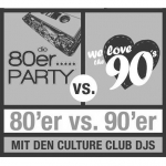 Bild: 80er vs 90er Party