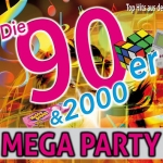 Bild: 90er & 2000er Mega Party