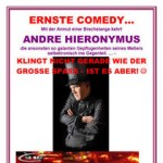 Andre Hieronymus - Ernste Comedy