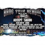 Bang Your Head!!! Festival 2013 - Accept, Saxon, Iced Earth u.v.a.