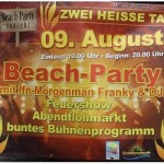 Beach-Party am Hartensbergsee Goldenstedt