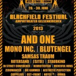Blackfield Festival 2013 - And One, Mono Inc., Blutengel, Samsas Traum u.v.a.