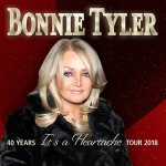 Bonnie Tyler | support: Sharron Levy - 40 Years It's A Heartache Tour 2018