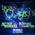 Born Of Osiris, After The Burial, Betraying The Martyrs, Buried In Verona