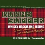 Bild: Burns Supper - Whiskey, Haggis und Lesung