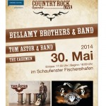 Countryrock OpenAir - Bellamy Brothers, Tom Astor