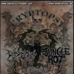 Cryptopsy, Disgorge, Jungle Rot