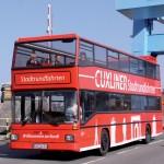 Cuxliner Stadtrundfahrt in Cuxhaven