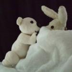 Der kleine Eisbär (Lars) und der Angsthase - WODO Puppenspiel