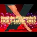 Deutsche Meisterschaft - Lateinamerikanische Tänze