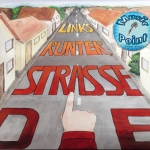 Die Strasse runter, links - Music-Point Obernburg