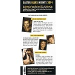 9. COTTON CLUB EASTER BLUES NIGHTS: Jimmy Reiter Band, Wellbad, Kat Baloun, Jan Fischer