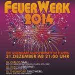 Feuer-Werk - Silvester-Party E-Werk