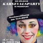 Frankfurt Alaaf - Die einzige kölsche Karnevalsparty