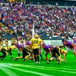 American Football in der Commerzbank-Arena