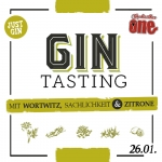 Gin Tasting - Cocktailbar ONE Magdeburg