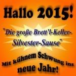 Hallo 2015! - mit kühnem Schwung ins Neue Jahr! -