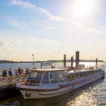 Harbour Tour - ENGLISH guided - 2018 / 1 hour tour in the harbour of Hamburg