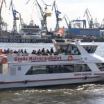 Große Hafenrundfahrt - 1-stündige Tour durch den Hamburger Hafen