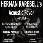 HERMAN RAREBELL´s Acoustic Fever