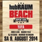 hubRAUM Beach Open-Air 2014