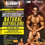 Deutsche Meisterschaft im Natural Bodybuilding 2015