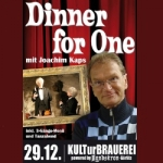 Dinner for One mit Joachim Kaps