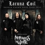 LACUNA COIL - Guests: Motionless in White & Devilment