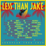 LESS THAN JAKE - Special Guest: Tequila & The Sunrise Band
