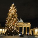Weihnachtliche Lichterfahrt durch Berlin