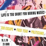 Bild: Life is too short for boring music