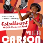 Martin Luther & Dr. Martin Luther King Gedenkkonzert
