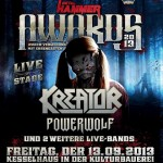Metal Hammer Awards 2013 - Kreator, Powerwolf u.a.