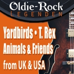 Oldie-Rock Legenden - Yardbirds & Animals and Friends & T. Rex