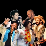 Our Tribute to Elvis - Marc Charro, Toni Cardone, Jonny Henning, Kevin Löhr und Andy King
