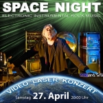 Die Pond Space Night