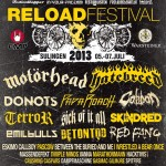 Reload Festival 2013 - Motörhead, The Gaslight Anthem u.v.a.