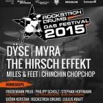 Rockstroh Drums - Das Festival 2015 - Tagesticket