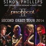 Simon Phillips & Protocol II - Second Orbit Tour 2014