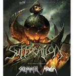 Suffocation, Skeletonwitch, Havok