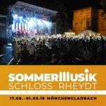 Bild: Sommermusik Schloss Rheydt Mönchengladbach