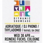 Tanz in den Mai im Reineke Fuchs -  Diynamic Showcase w / Adriatique, DJ Phono, Thyladomid