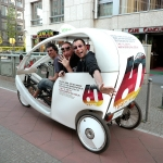 Velotaxi Kombitour – Auf den Spuren der Berliner Clubkultur der 90er / In the footsteps of the Berlin club culture of the 90s - Velotaxi Kombitour – Auf den Spuren der Berliner Clubkultur der 90er / In the footsteps of the Berlin club culture of the