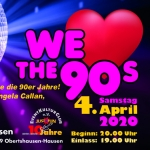 We Love The 90`s - EventKulturClub e. V.