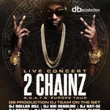Bild: 2 CHAINZ - Live B.O.A.T.S. Europe Tour