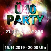 Ü40 Party - Stadthalle am Steintor Bernau