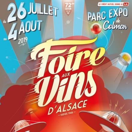 Elsass Karte Colmar.Foire Aux Vins D Alsace Festival 2019 Tickets Karten Bei Adticket De