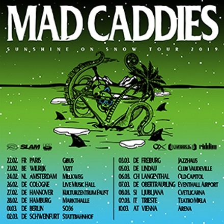 Bild: Mad Caddies